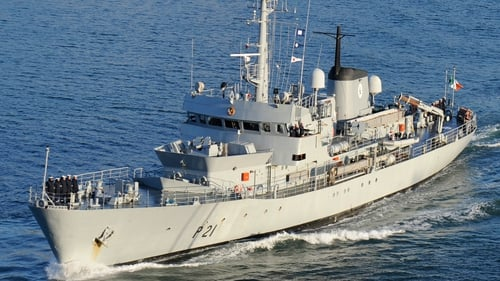 The LÉ Emer was the oldest in the naval service fleet