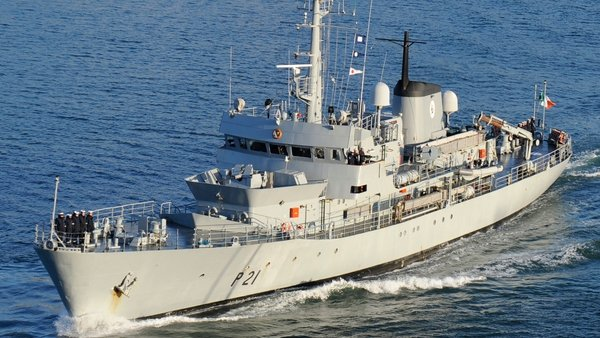 The LÉ Emer has been in service since 1978 (Pic: Department of Defence)