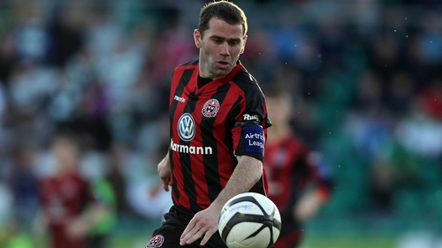 Dave Mulcahy was among the goalscorers for Bohemians