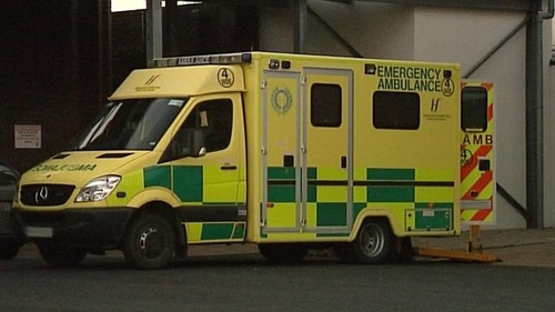 The National Ambulance Service said that it is investigating the incident