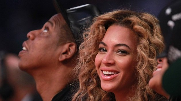 Beyonce and husband Jay Z