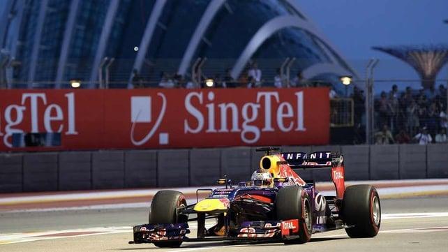 Sebastian Vettel will be on pole tomorrow