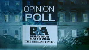 The nationwide Sunday Times/Behaviour & Attitudes poll of over 1,500 voters was conducted between 3 May and 14 May