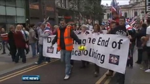 Loyalist Belfast parade attended by 1,000