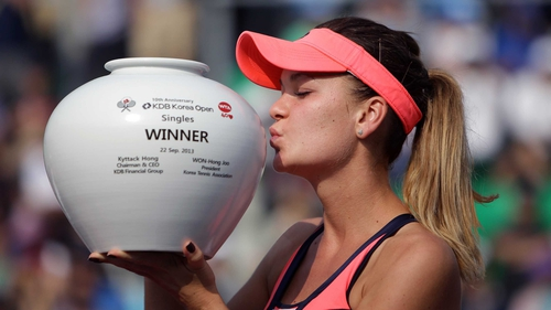Agnieszka Radwanska secured the Korea Open after a gruelling final with Russia's Anastasia Pavlyuchenkova