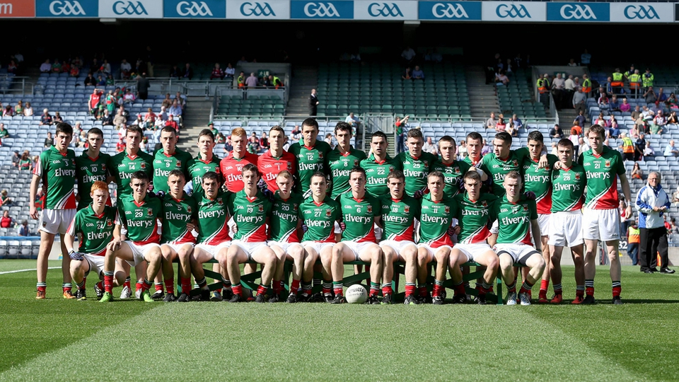 The Mayo minor squad
