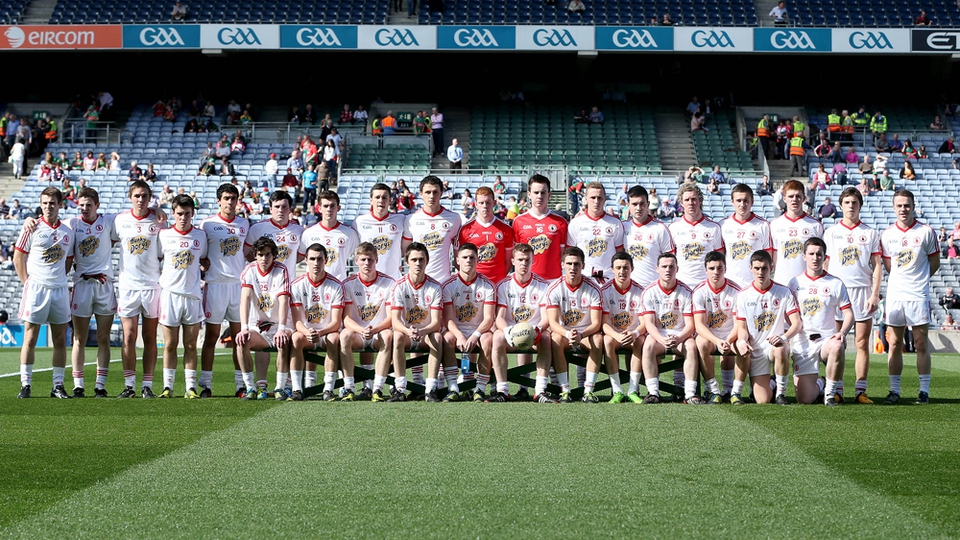 The Tyrone minor squad