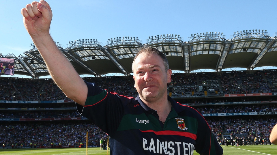Mayo manager James Mitchell