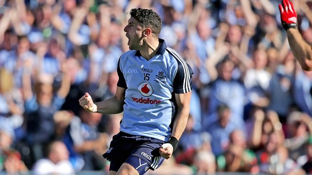 Bernard Brogan starts in the full-forward line for Dublin