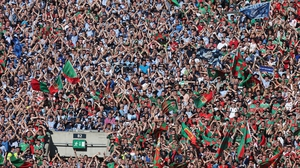 Mayo fans find space on The Hill