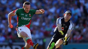 Andy Moran gave Mayo hope when he scored a goal in the second half
