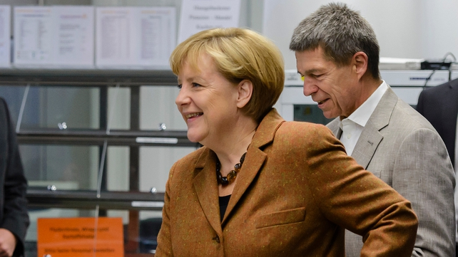 It is unclear whether Angela Merkel would be able to preserve her centre-right coalition