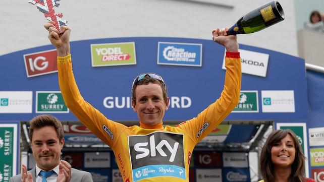 Bradley Wiggins wins his first stage-race event since his 2012 Tour de France triumph
