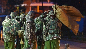 Kenyan military frees most hostages at Nairobi shopping centre