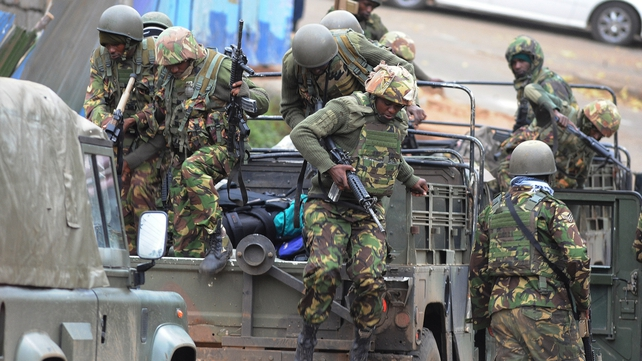 Kenya's military has said it is making every effort to bring about a 'speedy conclusion'