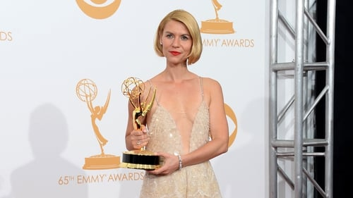 Claire Danes picking up her Emmy last Sunday night