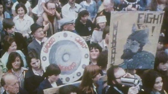 Wood Quay Protest, 1978