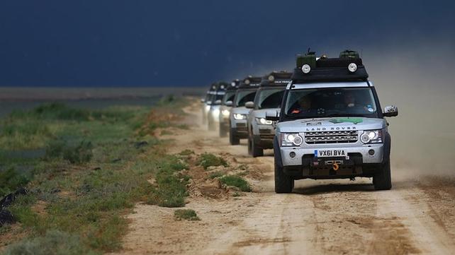 Testing hybrid Land Rovers