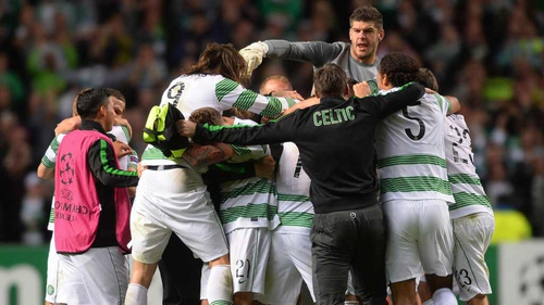 Celtic have reached the group stages of the Champions League again this season