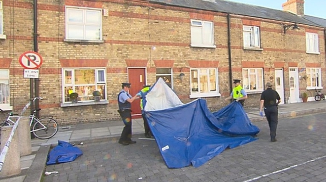 The man was found with stab wounds at his home on Ormond Square