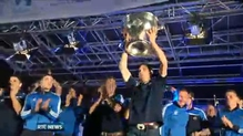 Thousands celebrate Dublin's All-Ireland success