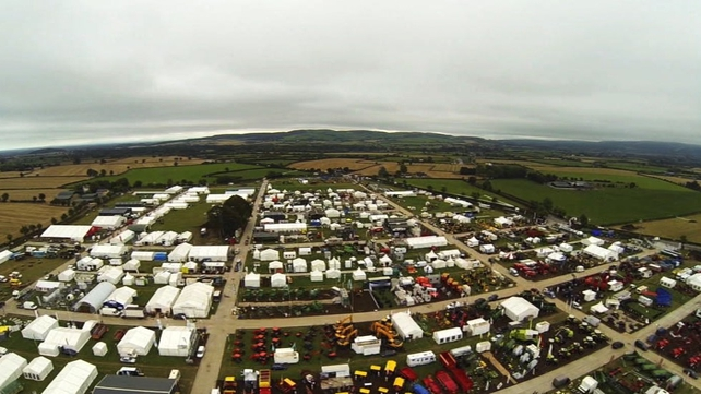 Morning business news with Conor Brophy - live from the National Ploughing Championships in Co Laois