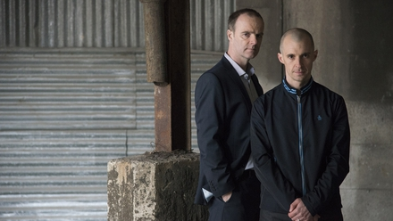 Brían F O'Byrne and Tom Vaughan-Lawlor