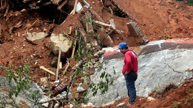 Mudslides and flooding affected all but five of Mexico's 31 states