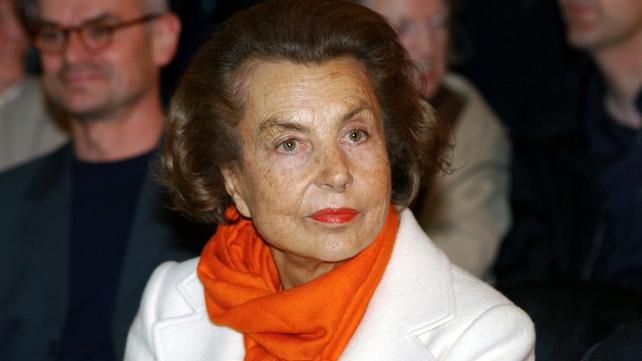 Mr Sarkozy is accused of taking advantage of L'Oreal heiress Liliane Bettencourt