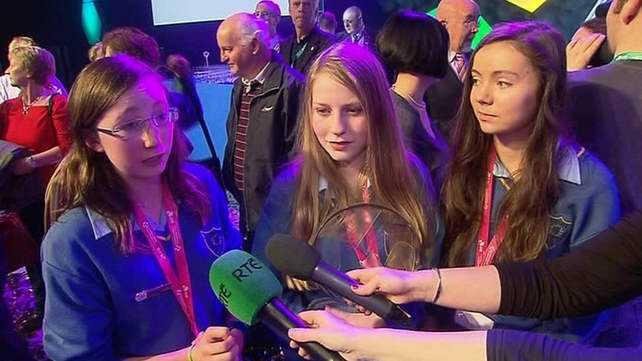 The Cork students won the Irish competition in January
