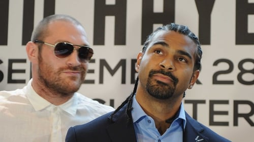 Tyson Fury's bout with David Haye was postponed until February