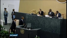Syria focus of UN General Assembly