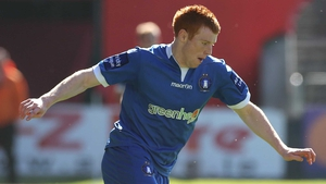 Rory Gaffney sealed the points for Limerick FC