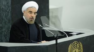 Hassan Rouhani said he did not seek to increase tension with the US