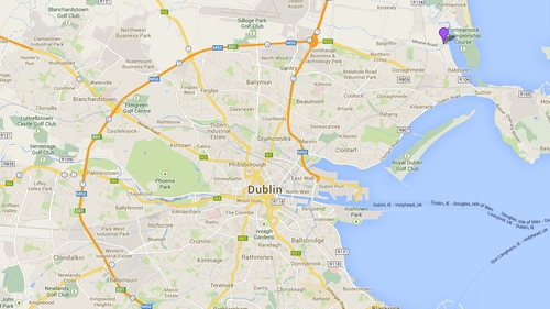 The incident happened on Moyne Road in Baldoyle (Credit: Google)
