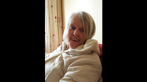 Last confirmed sighting of Peggy Mangan is at the Charlestown Shopping centre in Finglas