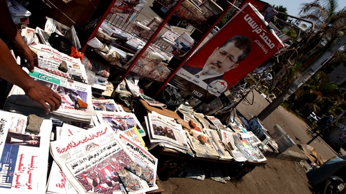 The newspaper had tried to promote support for Mohammed Mursi