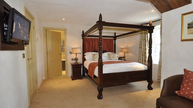 The accommodation consists of 41 sumptuous guest rooms and suites