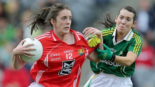 Cork will face Kerry in the semi-finals of the Tesco Homegrown Ladies National Football League