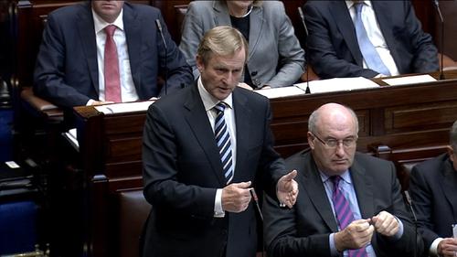 Taoiseach Enda Kenny said teachers should 'think carefully'