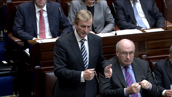 Taoiseach Enda Kenny said teachers should 'think carefully'