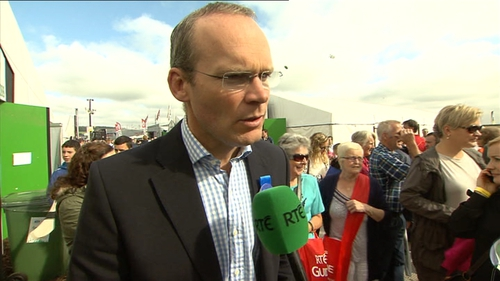 Simon Coveney has pledged €40m towards the site's remediation