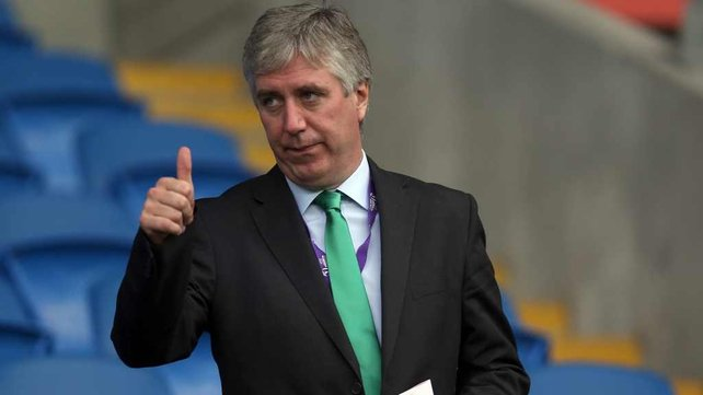 FAI chief executive John Delaney feels Noel King is the correct appointment as caretaker