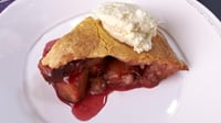 Rustic Plum Pie - Why not try this tasty dessert from Rachel Allen?