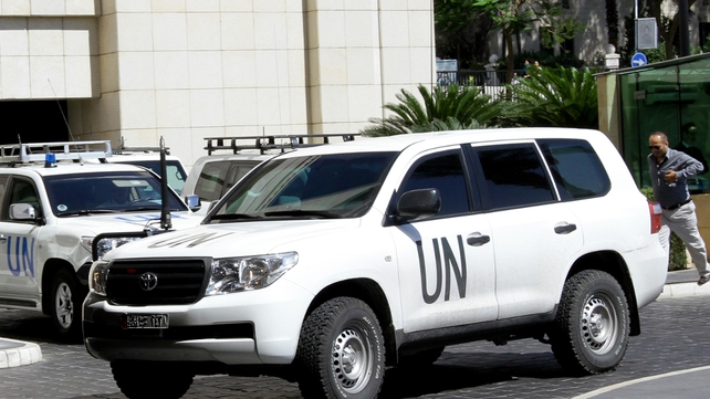 UN inspectors are back in Syria to continue their investigations into chemical weapons use
