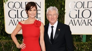 Carey Lowell and Richard Gere at this year's Golden Globes