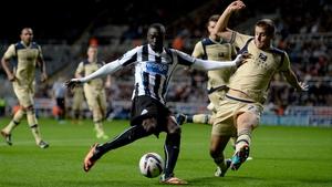 Papiss Demba Cisse ended his scoring drought against Leeds