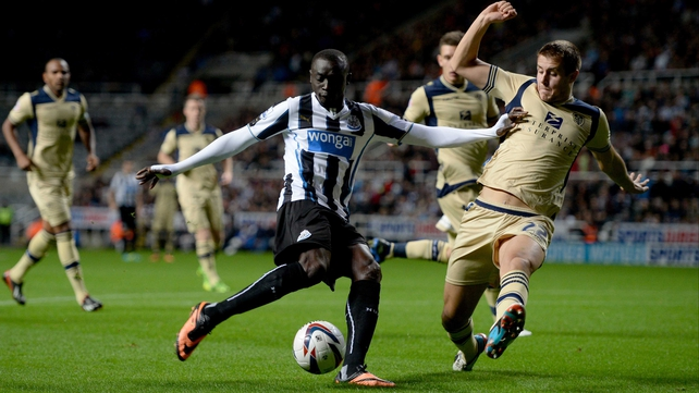Papiss Demba Cisse ended his scoring drought against Leeds