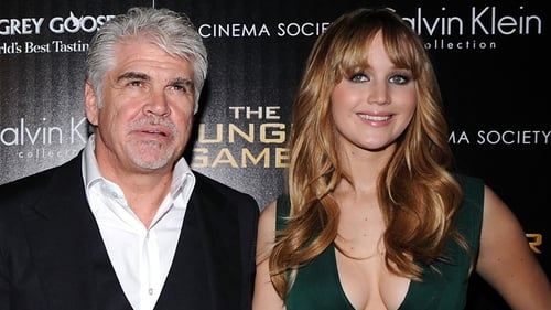 Gary Ross with Jennifer Lawrence