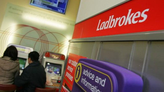 Ladbrokes reported operating profit of £18.4m in the first three months of 2014